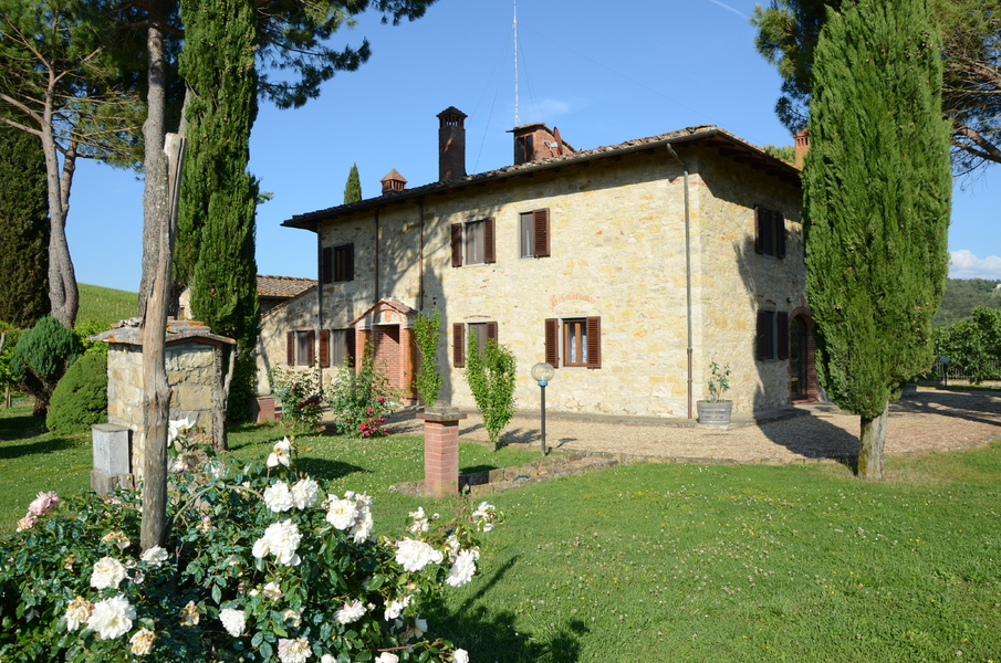 07-casa-di-campagna-casa-in-to - Country houses RADDA IN CHIANTI (SI) VOLPAIA