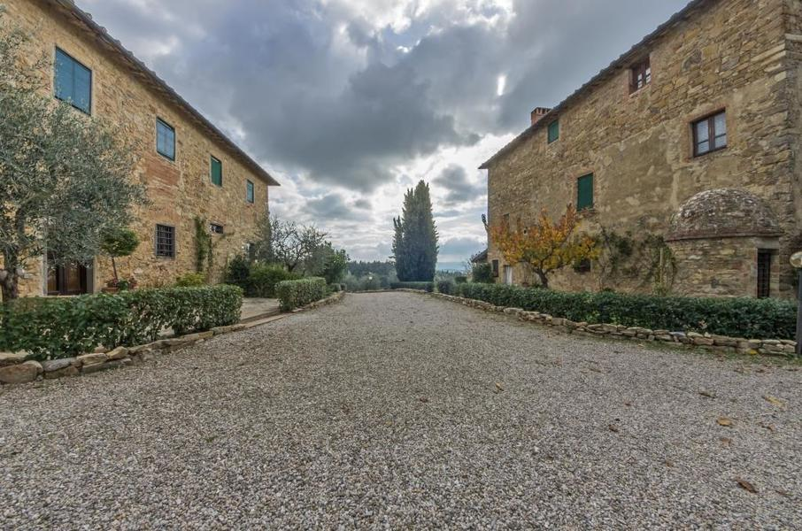 04 - Apartments in hamlets CASTELLINA IN CHIANTI (SI) GRANAIO
