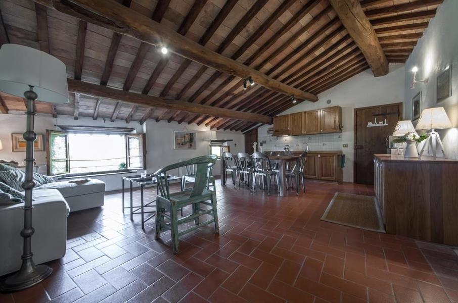22 - Apartments in hamlets CASTELLINA IN CHIANTI (SI) GRANAIO