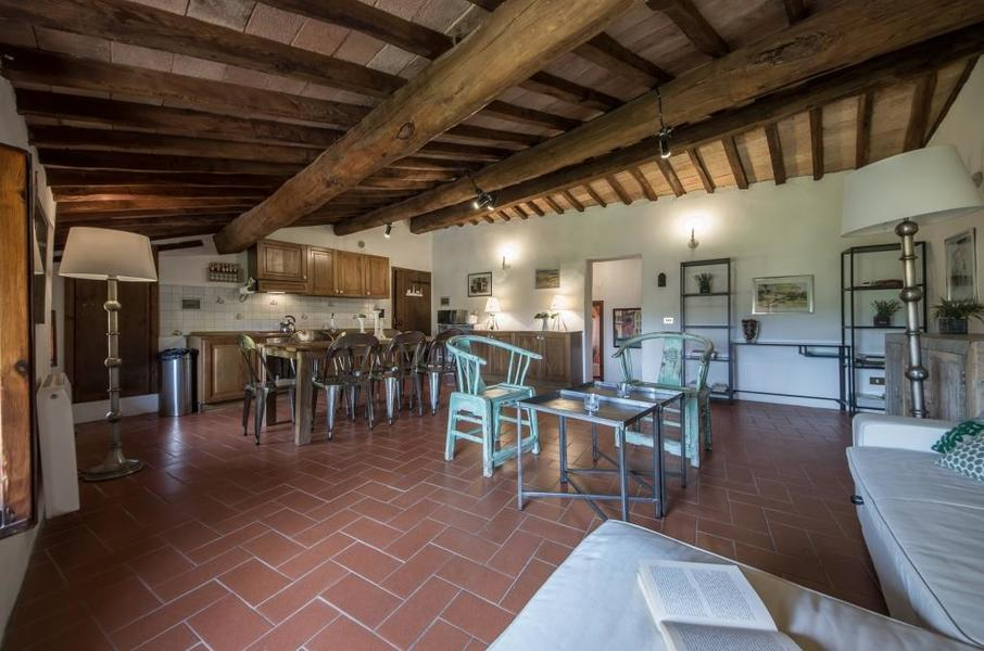 21 - Apartments in hamlets CASTELLINA IN CHIANTI (SI) GRANAIO