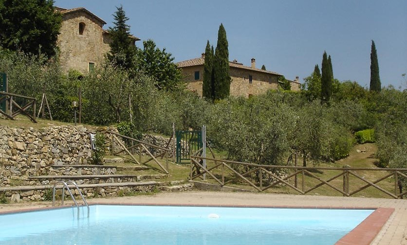 15 - Apartments in hamlets CASTELLINA IN CHIANTI (SI) GRANAIO