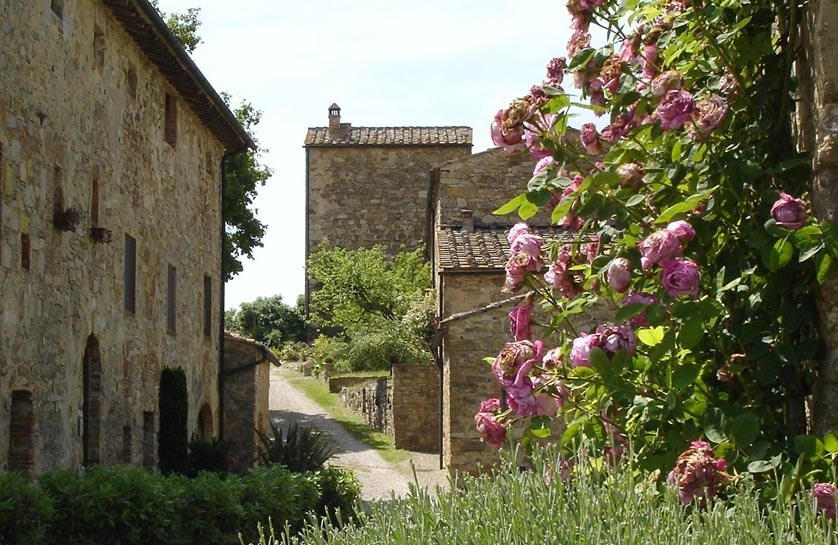 18 - Apartments in hamlets CASTELLINA IN CHIANTI (SI) GRANAIO
