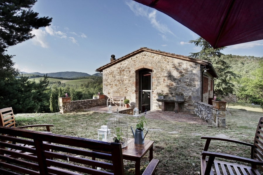 39 - Country houses GAIOLE IN CHIANTI (SI) RIETINE