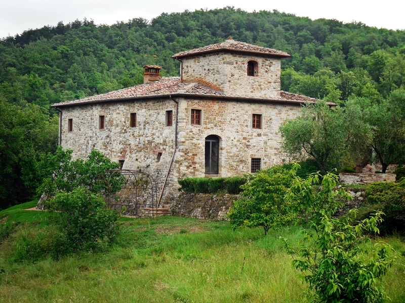 40 - Country houses GAIOLE IN CHIANTI (SI) RIETINE