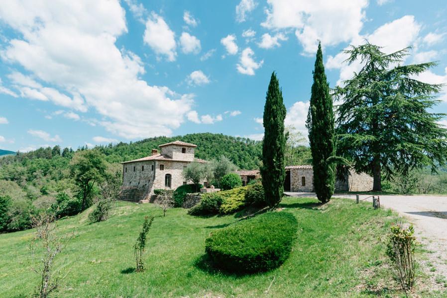 01-luciano cortigiani-36 - Country houses GAIOLE IN CHIANTI (SI) RIETINE