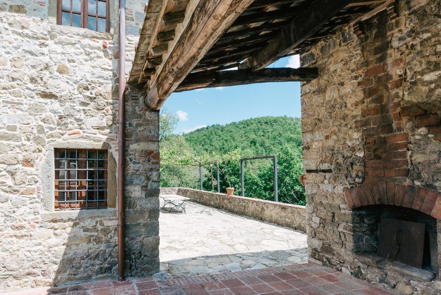 35-luciano cortigiani-29 - Country houses GAIOLE IN CHIANTI (SI) RIETINE