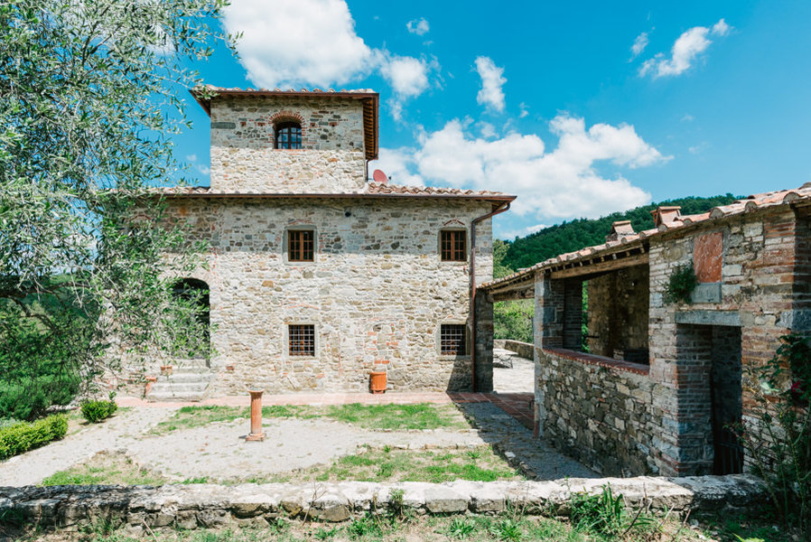 03-luciano cortigiani-33 - Country houses GAIOLE IN CHIANTI (SI) RIETINE