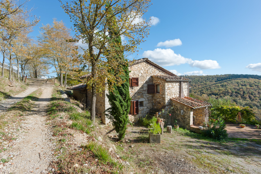 05 - Country houses RADDA IN CHIANTI (SI)