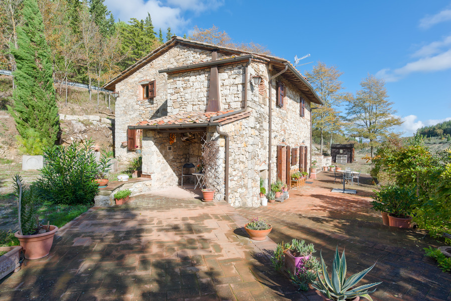 02 - Country houses RADDA IN CHIANTI (SI)