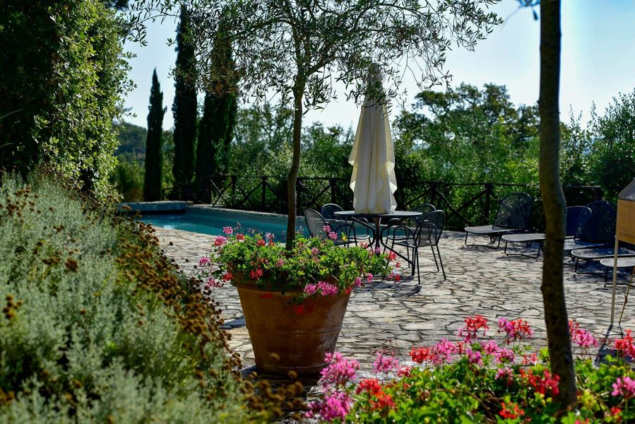 07 pool morelli - Apartments in hamlets RADDA IN CHIANTI (SI) PODERE MORELLI
