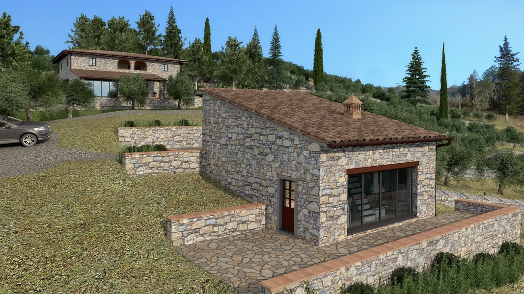 24 - Properties for development GAIOLE IN CHIANTI (SI)