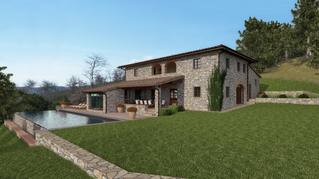 01 - Properties for development GAIOLE IN CHIANTI (SI)