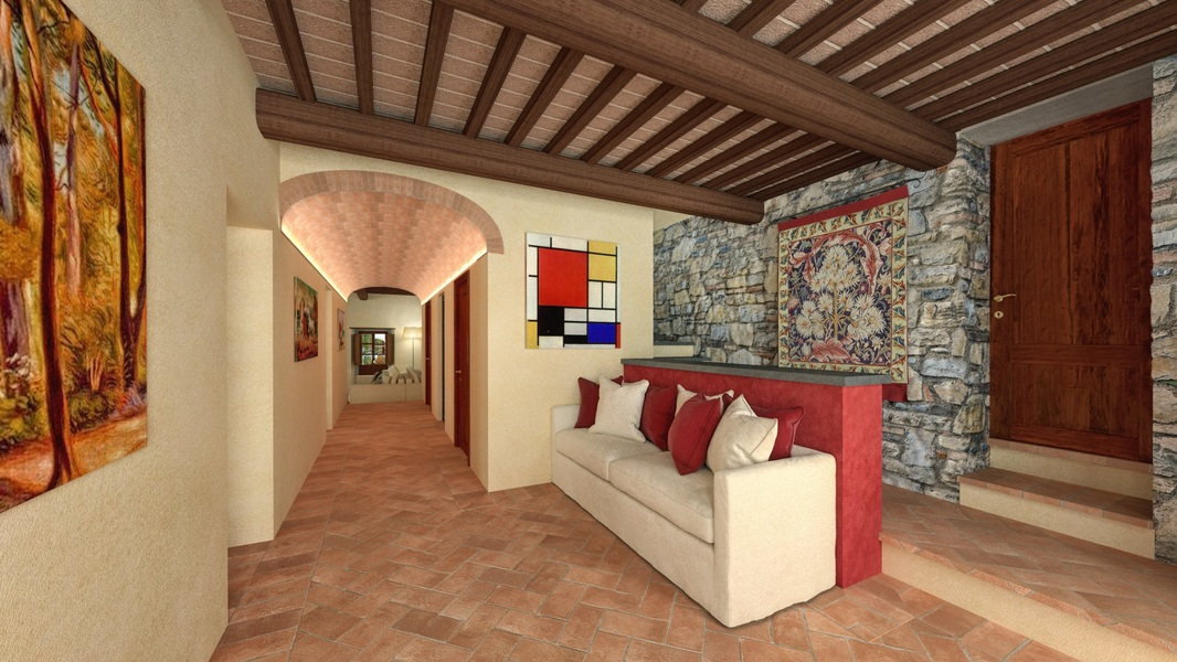 12 - Properties for development GAIOLE IN CHIANTI (SI)