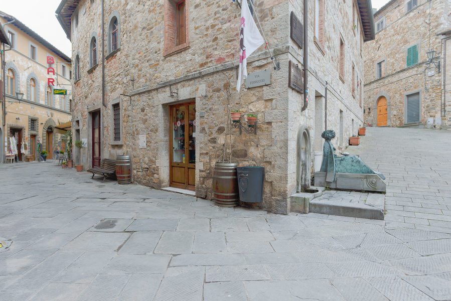 02 - Apartments in hamlets CASTELLINA IN CHIANTI (SI)