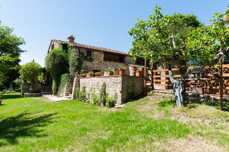 03 - Country houses CASTELLINA IN CHIANTI (SI) MASSETO