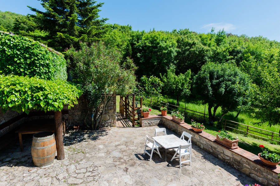 19 - Country houses CASTELLINA IN CHIANTI (SI) MASSETO