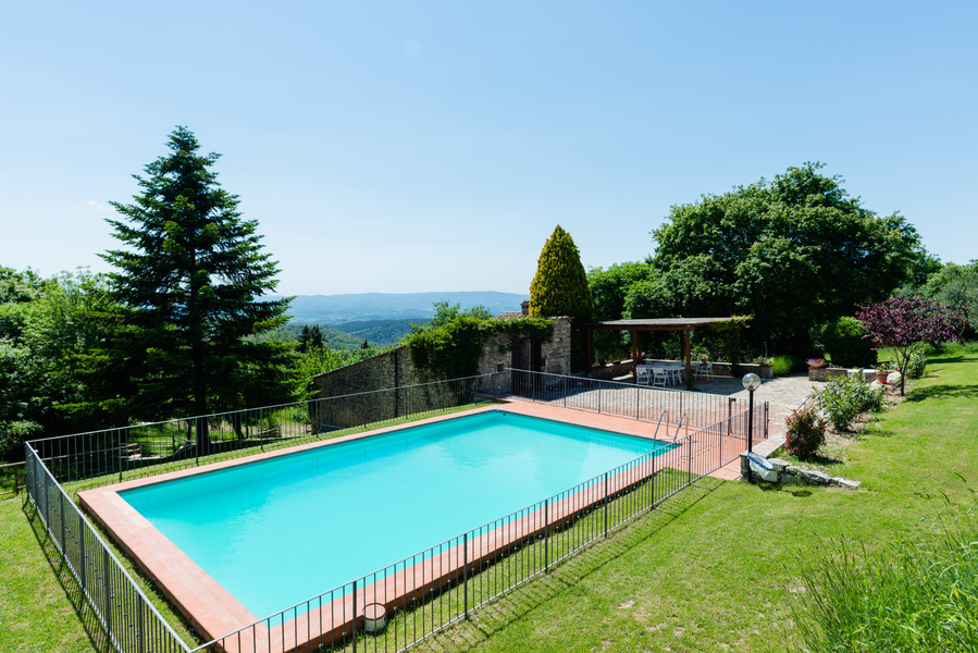 13 - Country houses CASTELLINA IN CHIANTI (SI) MASSETO