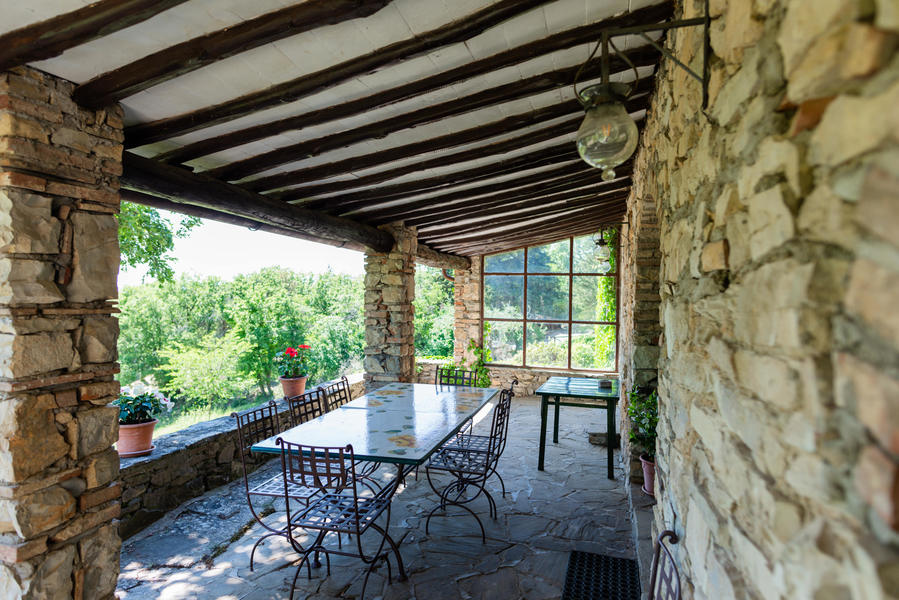 20 - Country houses CASTELLINA IN CHIANTI (SI) MASSETO
