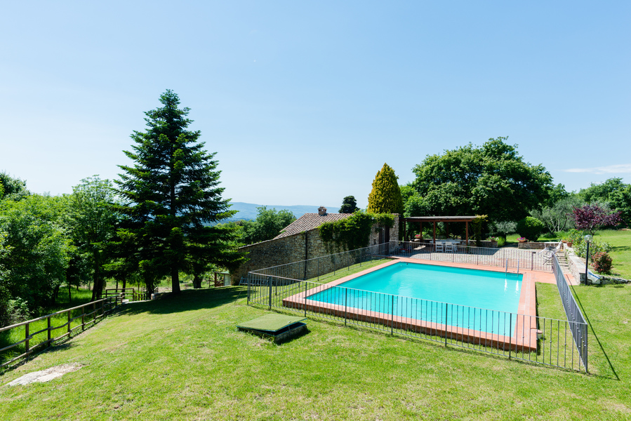 12 - Country houses CASTELLINA IN CHIANTI (SI) MASSETO