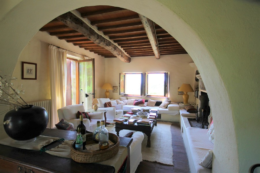 19 - Country houses RADDA IN CHIANTI (SI)