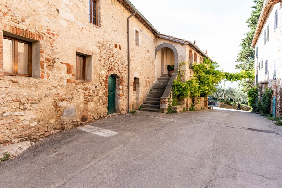 04 - Apartments in hamlets CASTELLINA IN CHIANTI (SI) FONTERUTOLI
