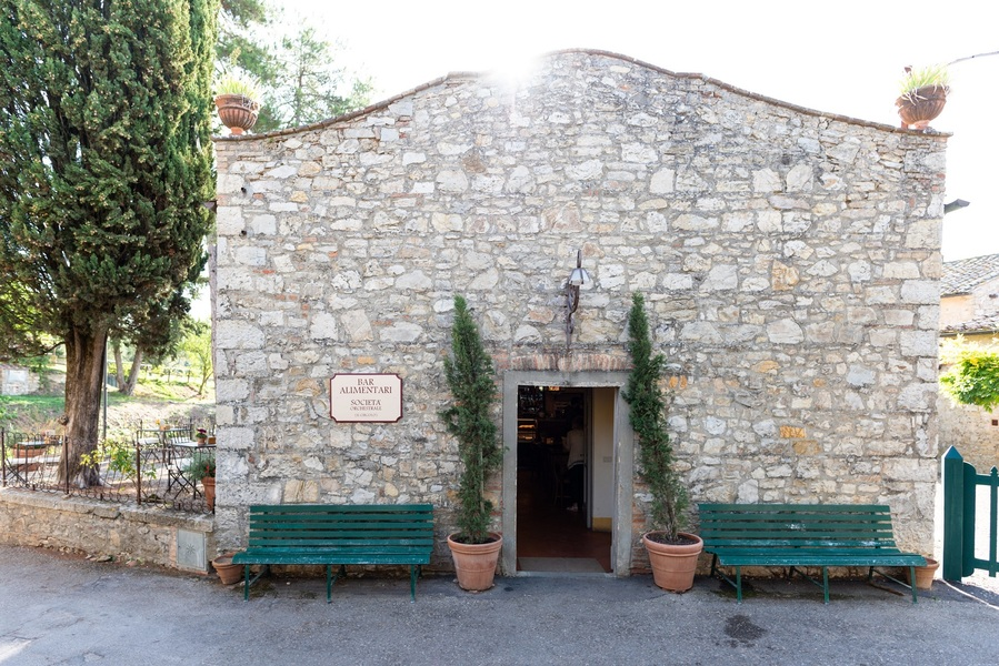 06 - Apartments in hamlets CASTELLINA IN CHIANTI (SI) FONTERUTOLI