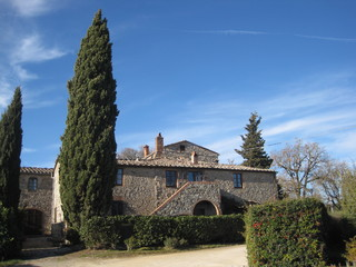 Apartments in hamlets CASTELLINA IN CHIANTI (SI) MANDORLO