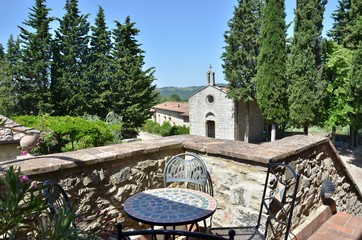 Apartments in hamlets GAIOLE IN CHIANTI (SI) MONTEBUONI