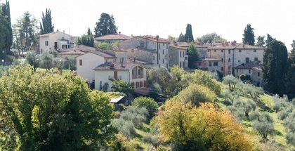 Apartments in hamlets CASTELLINA IN CHIANTI (SI) FONTERUTOLI
